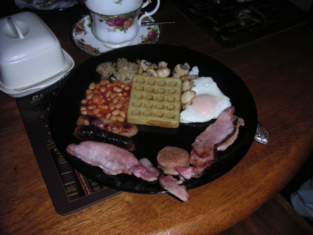アイルランドの朝食2