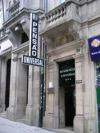ホテル『PENSAO UNIVERSAL』