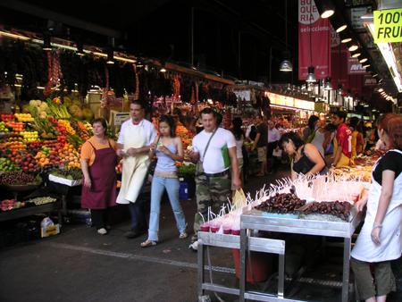 サン・ジョゼップ市場